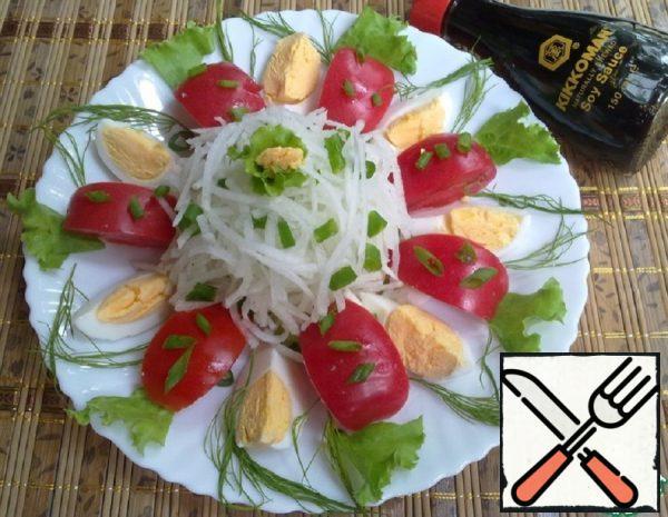 Vegetable Salad with Daikon Recipe