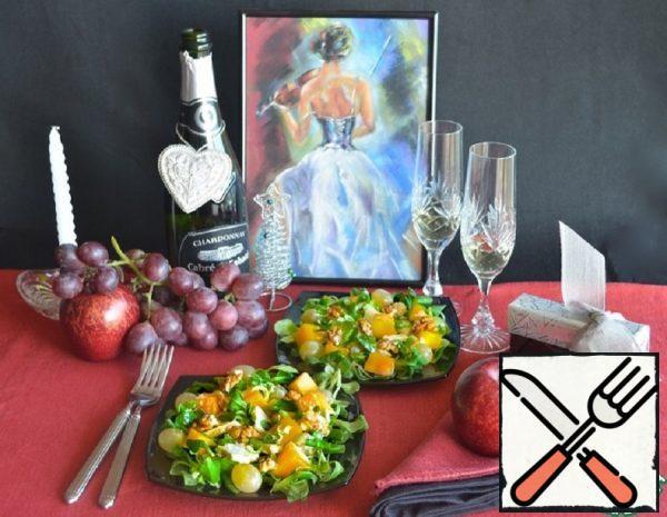 Turkey, Mango and Grape Salad Recipe