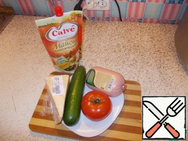 Prepare the necessary products.