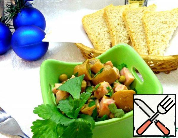 Salad with Ham Recipe
