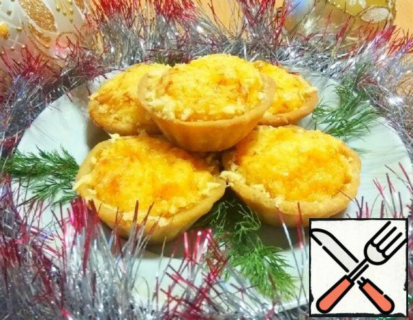 Tartlets with Cheese and Onion Filling Recipe