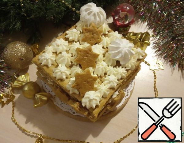 """New Year's Cake """"Honey"""" Recipe"""