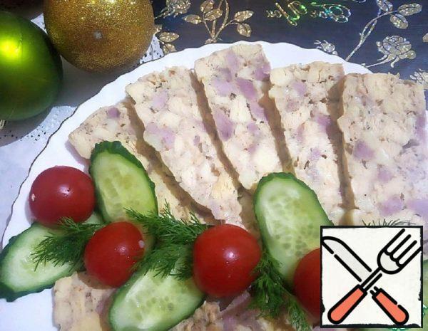 Chicken Ham with Turkey and Cheese Recipe