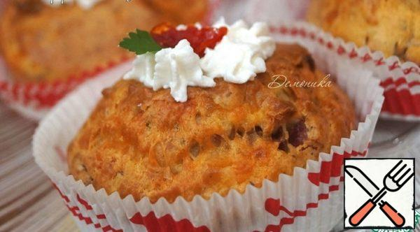 Snack Muffins with Cheese and Sausage Recipe