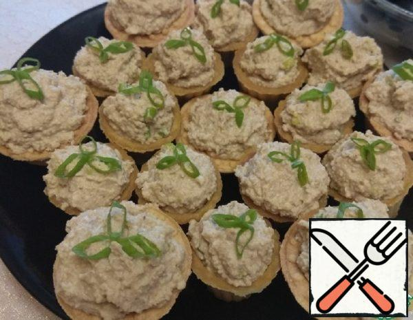 Tartlets with Cod Liver Recipe