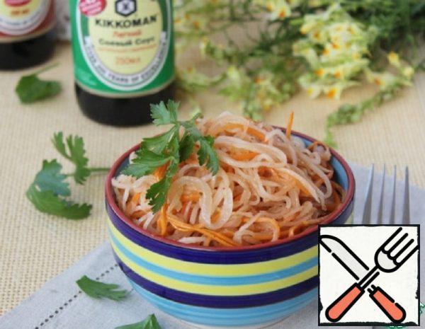 Salad with Daikon Recipe