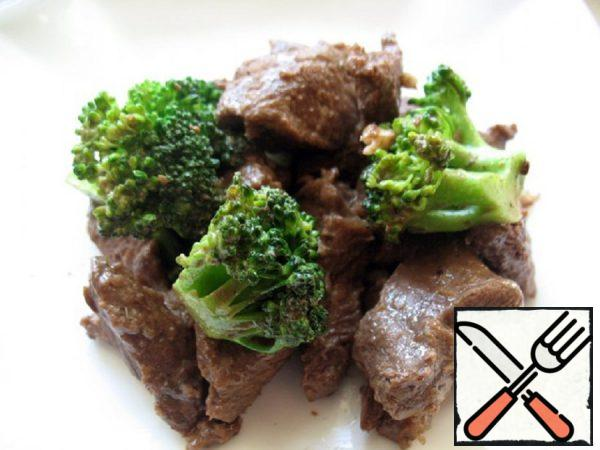 Beef with Broccoli in Chinese Recipe