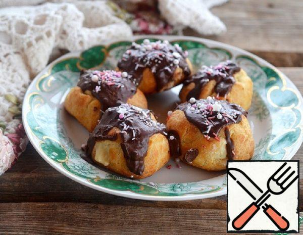 Custard Cakes-Rolls with Custard Cream Recipe