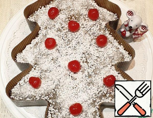 "Coconut Oil Cake ""Cranberry Chocolate"" Recipe"