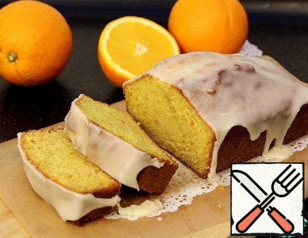 Orange Cupcake with Frosting Recipe