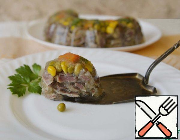 Aspic from Chicken Stomachs Recipe