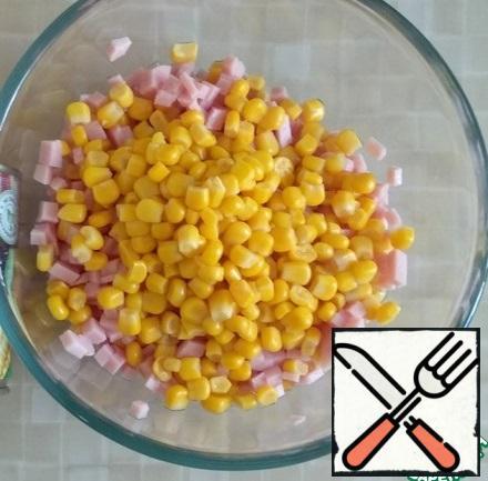 Add the corn.