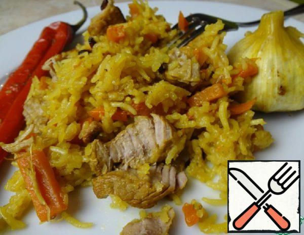 Pilaf with Meat Recipe