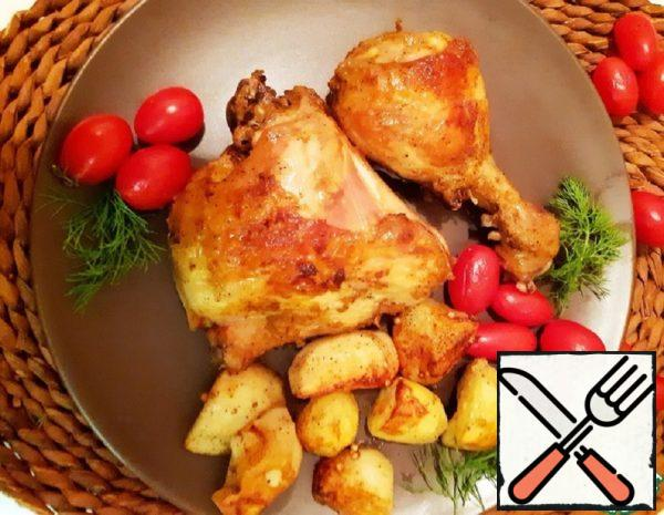 Chicken on Greek Recipe