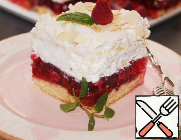 "Cake ""Raspberry cloud"" Recipe"