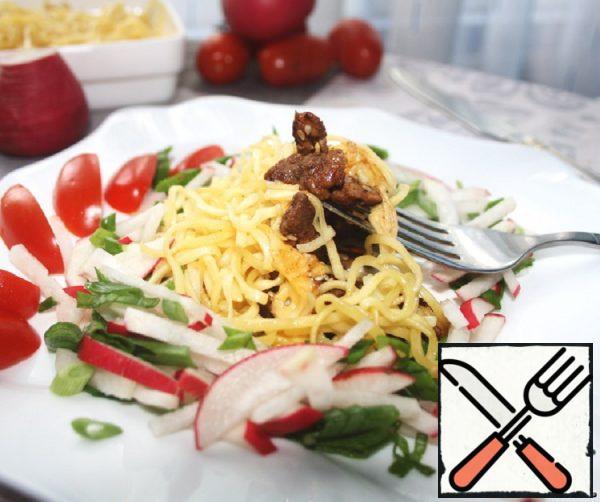 Warm Noodle Salad Recipe