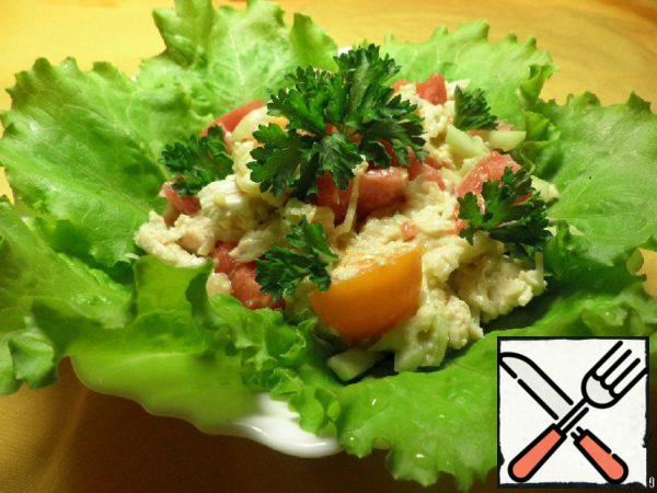 Chicken Salad with Vegetables Recipe