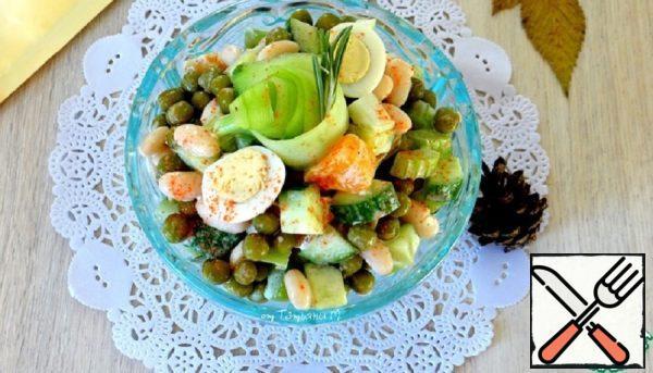 Juicy Salad with Tangerines Recipe