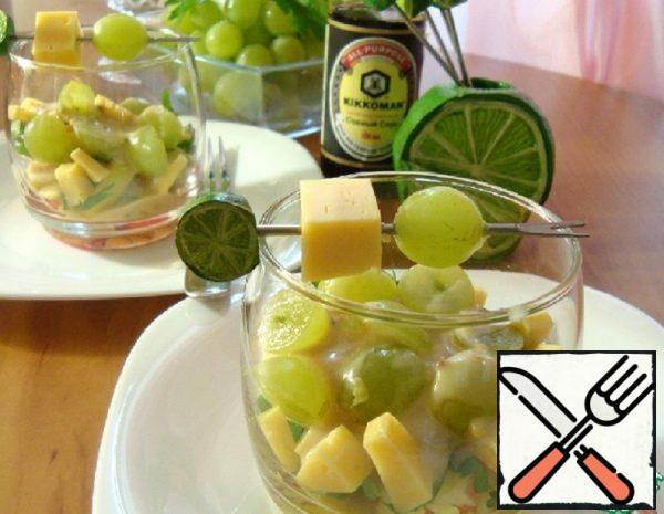 Verrin with Celery and Grapes Recipe