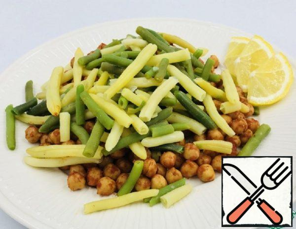 Salad of Chickpeas and Green Beans Recipe