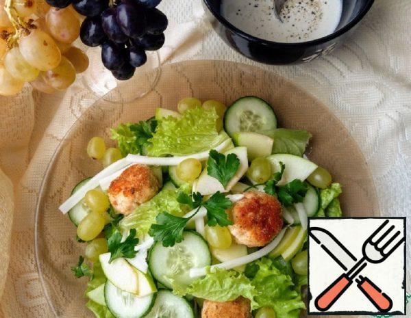 Light Salad with Polpette Recipe