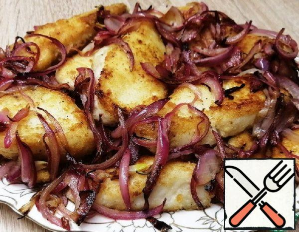 Fried Catfish with Onions Recipe