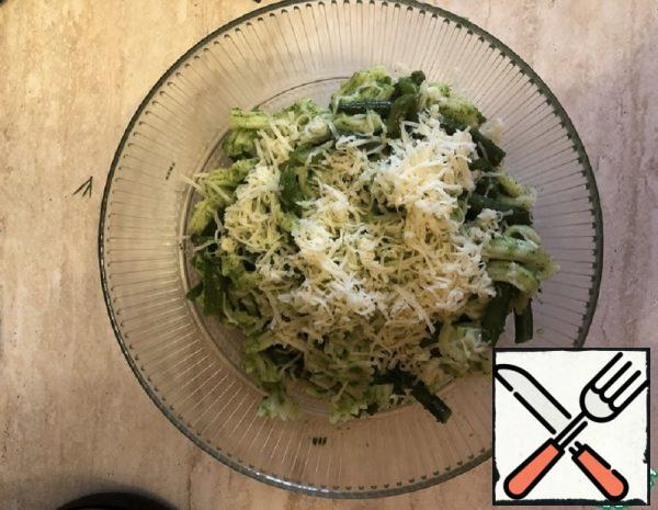 Noodles with Beans and Herb Sauce Recipe