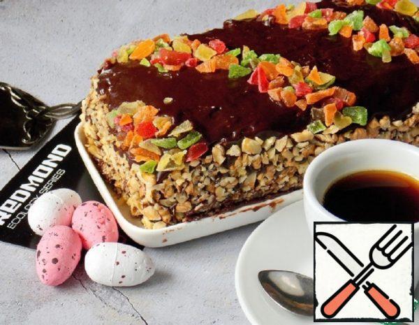 Sponge Cake with Halva Recipe