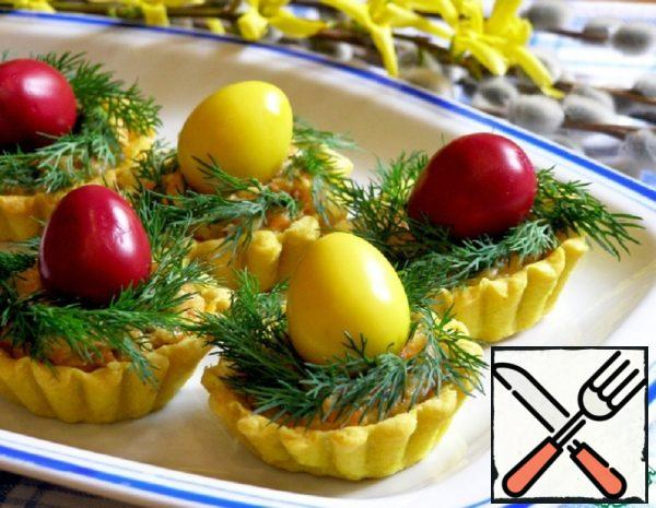 Tartlets with Pickled Egg Recipe