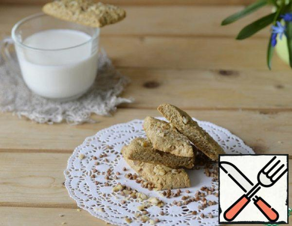 Buckwheat Cookies with Walnuts Recipe