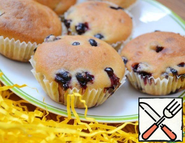 Muffins with Berries Recipe