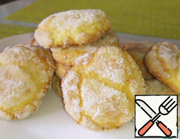 Curd-Lemon Cookies Recipe