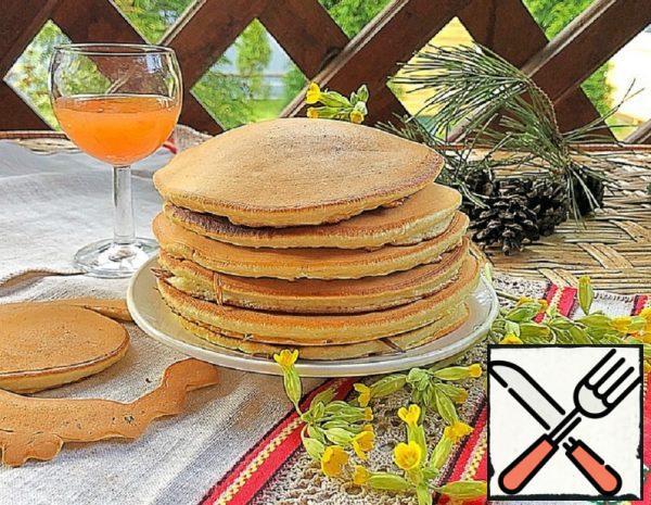 Vanilla Pancakes on Milk Recipe