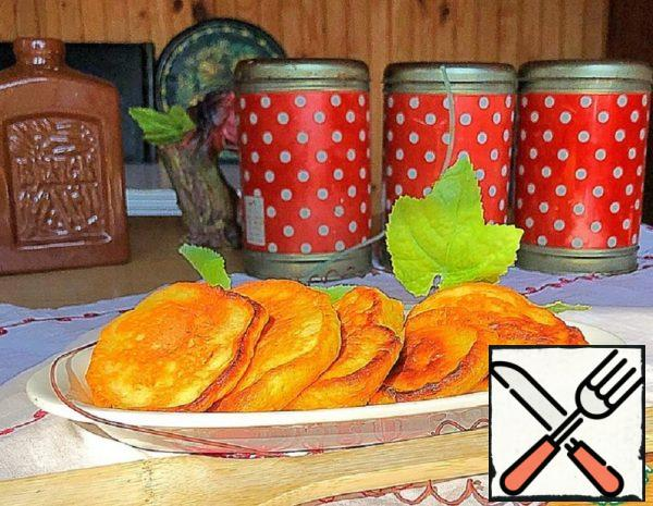 Carrot Pancakes with Sour Milk Recipe