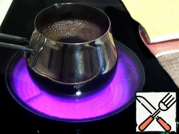 Make coffee,