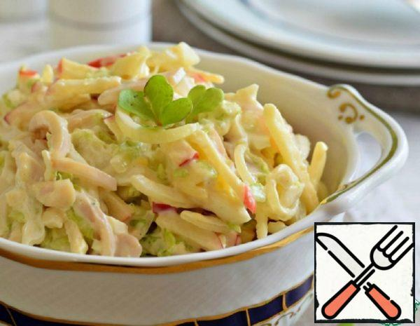 Squid Salad with homemade Mayonnaise Recipe
