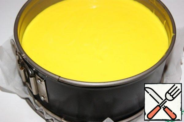 Place the cheese mixture in a mold and refrigerate for at least 5 hours, preferably overnight.