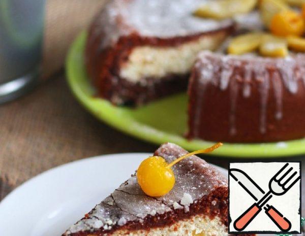 Chocolate Cheesecake with Mango Recipe