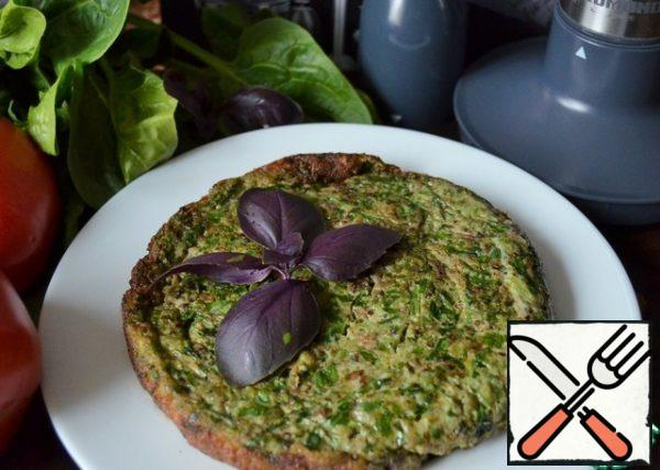 Serve with Basil, sprinkle with sumac.