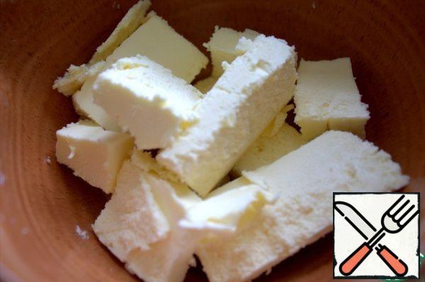 Melt the butter or margarine.