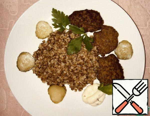 Liver Cutlets with Roast Recipe