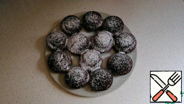 Top with powdered sugar if desired.