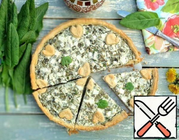 Open Pie Sorrel and Ricotta Recipe