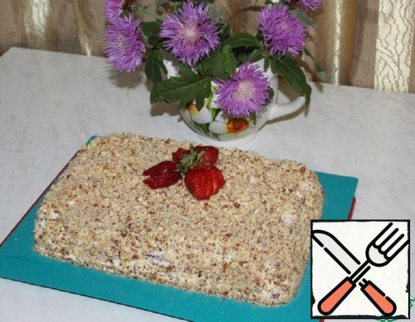Rye Cracker Cake without Baking Recipe