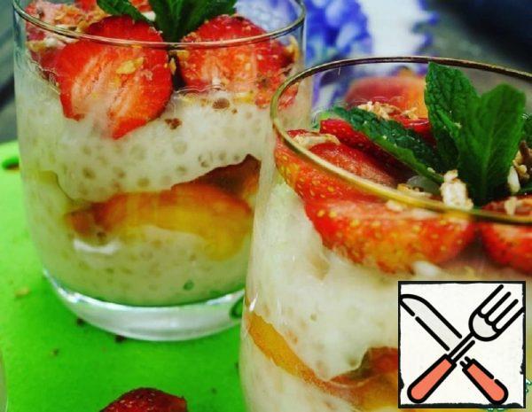 Tapioca Pudding with Fruit Recipe