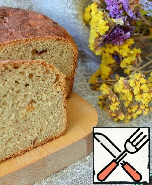 If the house smells of fresh bread, so happiness lives in it! Bake bread, take care of your happiness.