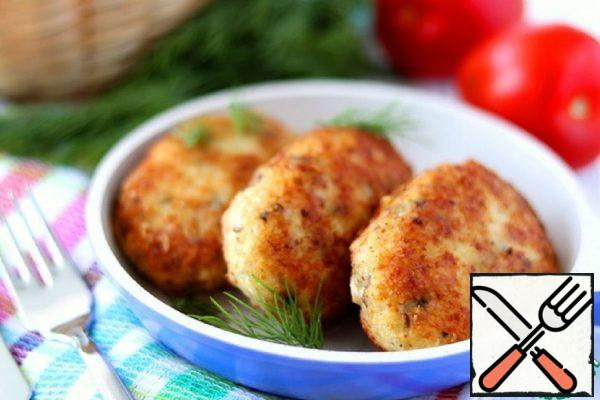 Cod Fillet Cutlets Recipe