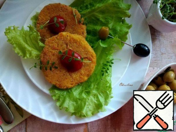 Spicy Chickpea Cutlets Recipe