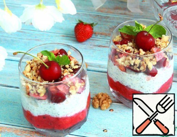 """Chia Pudding """"Berry Mix"""" Recipe"""