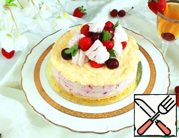 Lemon and Berry Cheesecake Recipe